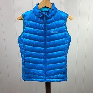 Marmot Blue 800 Fill Puffer Vest